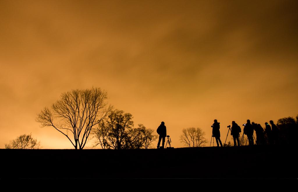 Nacht van de nacht bij de Wateregge